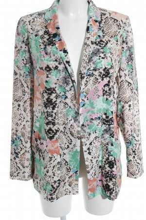 River Island Long-Blazer Animalmuster Casual-Look