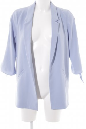 River Island Long-Blazer hellblau Casual-Look