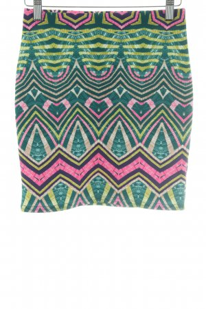 River Island Minirock grafisches Muster Casual-Look
