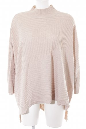 River Island Pull oversize beige style simple