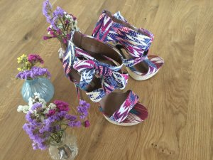 River Island Platform High-Heeled Sandal multicolored