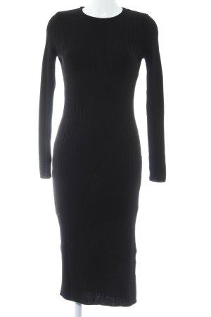 River Island Sweater Dress black casual look