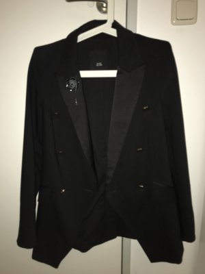 River Island Blazer smoking nero