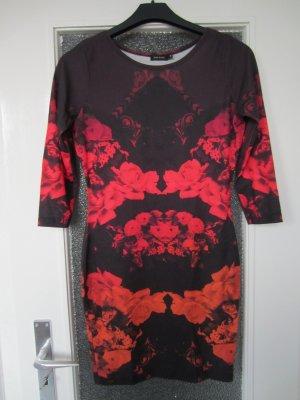 River Island schönes Kleid gemustert Gr. 36