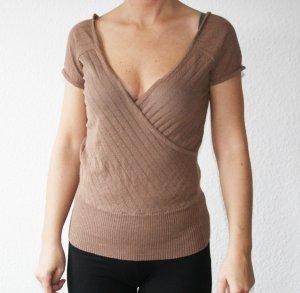 River Island Shirt mit V-Ausschnitt gr.40