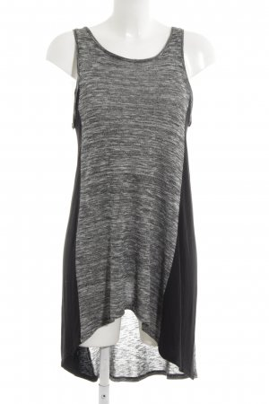River Island Shirtkleid grau-schwarz meliert Casual-Look