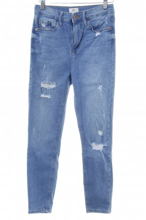 River Island Skinny Jeans himmelblau Casual-Look