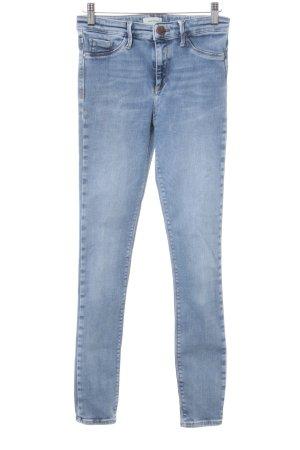 River Island Skinny Jeans himmelblau Casual-Look