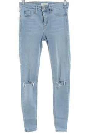 River Island Skinny Jeans himmelblau schlichter Stil