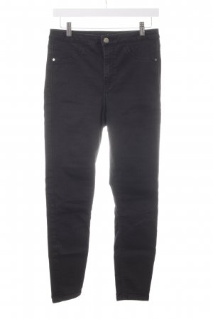 River Island Skinny Jeans schwarz Casual-Look