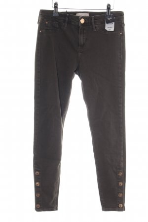 River Island Slim Jeans schwarz Casual-Look