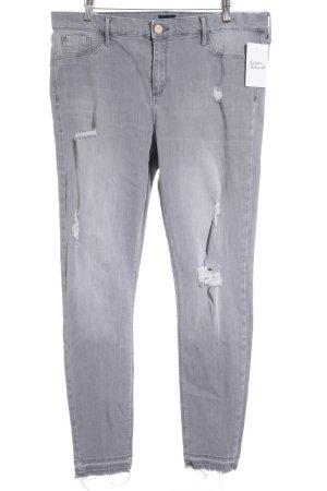 "River Island Slim Jeans ""Molly"" hellgrau"