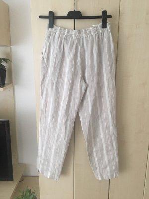 River Island Pantalone di lino bianco-beige