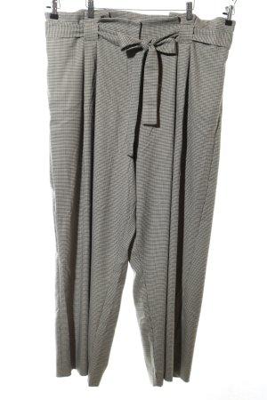 River Island Pantalon en jersey gris clair-noir motif à carreaux