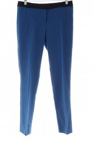 River Island Stoffhose blau-schwarz Business-Look