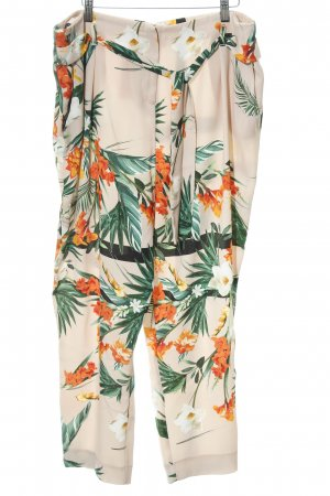 River Island Stoffhose florales Muster