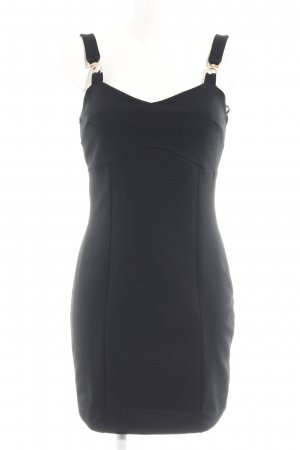 River Island Stretchkleid schwarz Webmuster Party-Look