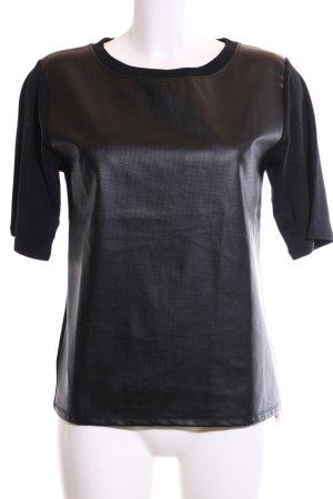 River Island T-Shirt schwarz Elegant