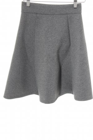 River Island Circle Skirt grey flecked casual look