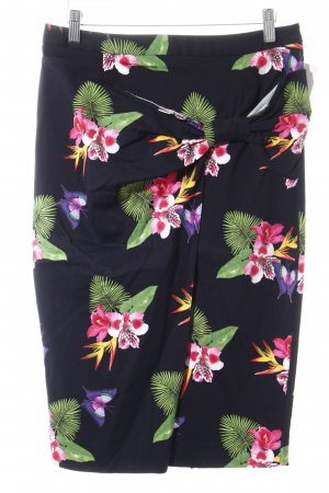 River Island Tulip Skirt animal pattern wrap look