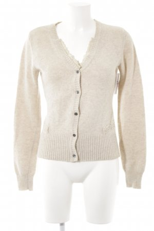 river woods Cardigan creme meliert Romantik-Look