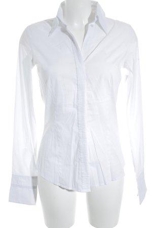 river woods Hemd-Bluse weiß schlichter Stil