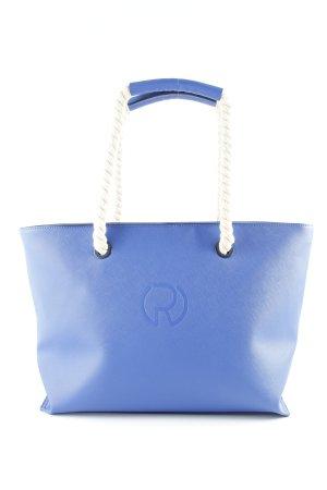 river woods Shopper blau Monogram-Muster Casual-Look