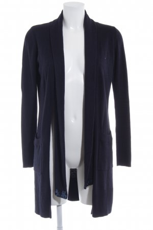 river woods Strick Cardigan dunkelblau Casual-Look