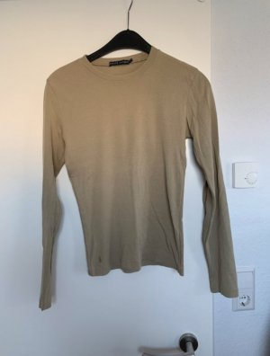 Ralph Lauren Camisa larga marrón grisáceo