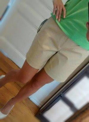 RL Ralph Lauren Shorts M 38 40 kurze Hose Neu beige braun Stretchanteil Baumwolle
