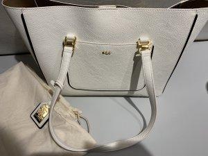 Lauren by Ralph Lauren Shopper natural white imitation leather