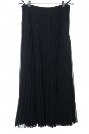 robe légère by Vera Mont Gonna a pieghe nero stile casual