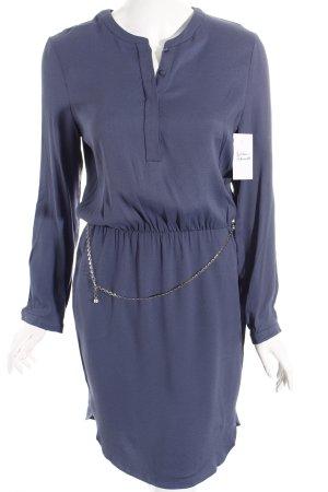 robe légère by Vera Mont Langarmkleid graublau schlichter Stil