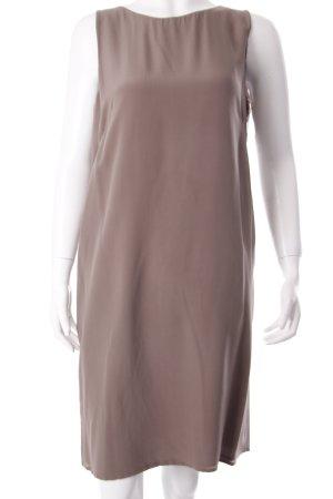 robe légère by Vera Mont Trägerkleid graubraun klassischer Stil
