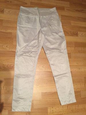 Harem Pants light grey-silver-colored