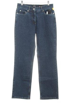 Robell Slim Jeans blau Jeans-Optik