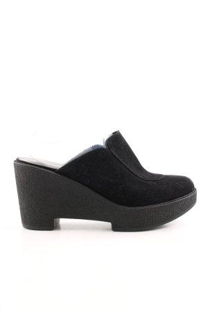 Robert clergerie Heel Pantolettes black casual look
