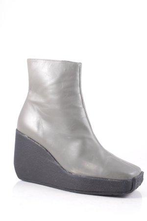 Robert clergerie Keil-Stiefeletten graugrün extravaganter Stil