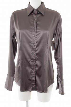 Robert Friedman Hemd-Bluse hellbraun Casual-Look