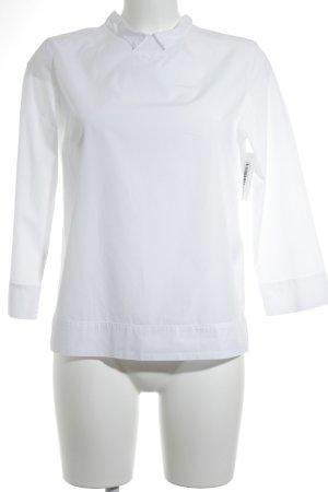 Robert Friedman Langarm-Bluse weiß minimalistischer Stil