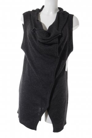 Robert Rodriguez Strickweste anthrazit Casual-Look