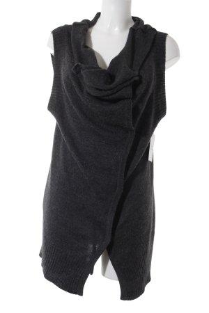 Robert Rodriguez Gilet tricoté gris anthracite style décontracté