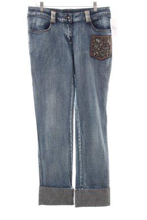 Roberta Scarpa Straight-Leg Jeans hellblau Casual-Look