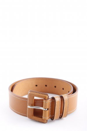 Roberto Bellido Leather Belt brown classic style