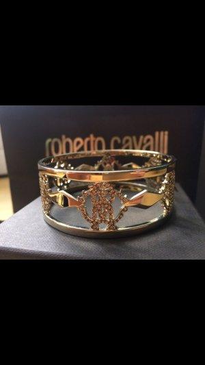 Roberto Cavalli Complemento para los brazos color oro