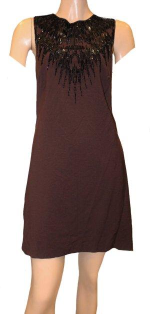ROBERTO CAVALLI Abend Kleid schwarz Gr. 40