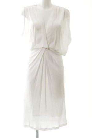 Roberto Cavalli Blusenkleid weiß Elegant