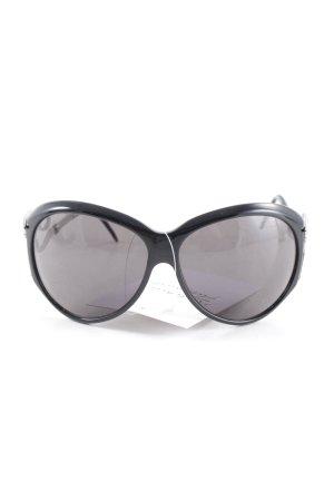 Roberto Cavalli Butterfly Brille schwarz-silberfarben extravaganter Stil