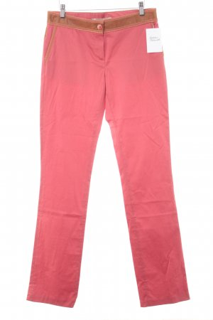 Roberto Cavalli Chinohose rot Casual-Look