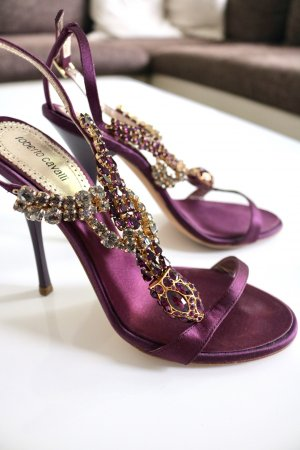 Roberto Cavalli High Heel Sandal multicolored
